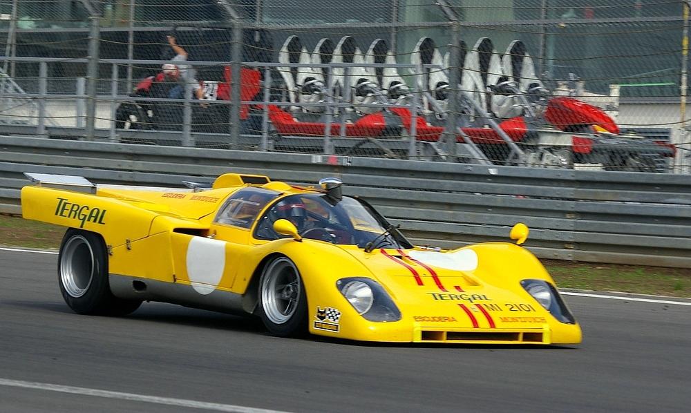 """""""Der Ring Racer"""" - Ferrari 512P"""