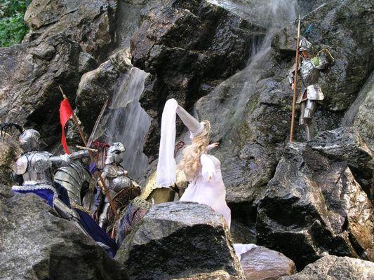 Der Ritter vom Wasserfall