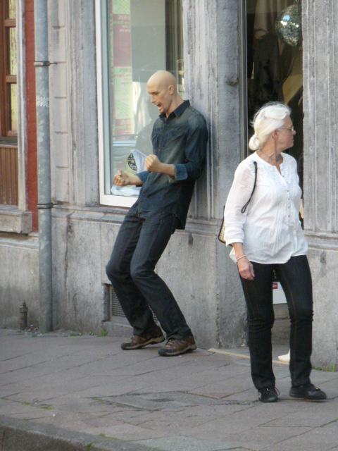 Der Rocker und die Frau