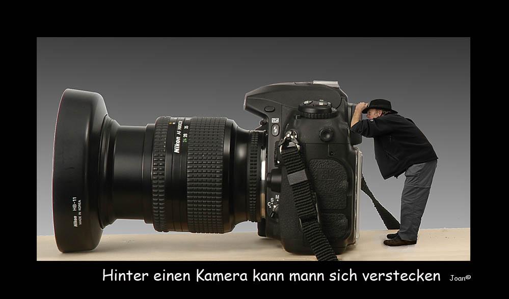 Der rolle eines Fotograf