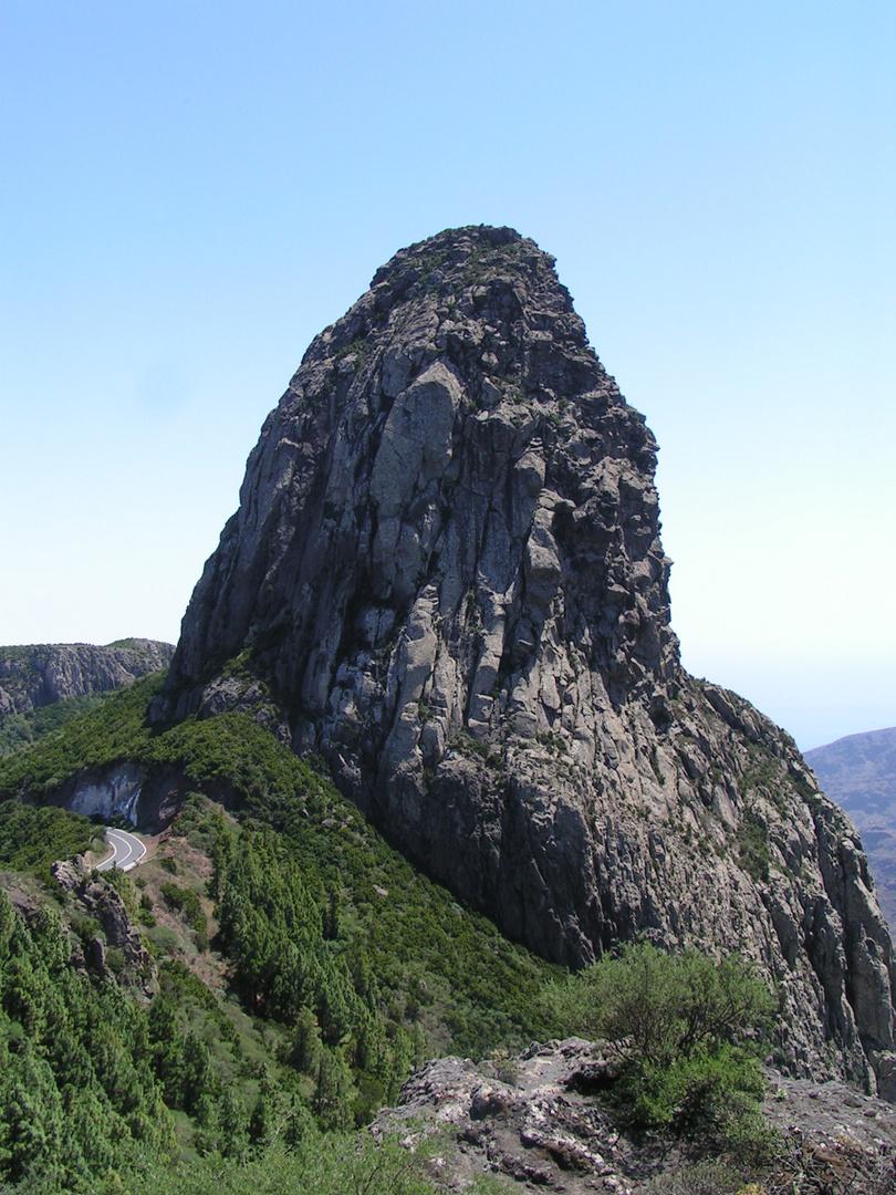 Der Roque Agando auf La Gomera