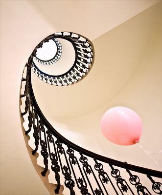 Der rosa Luftballon