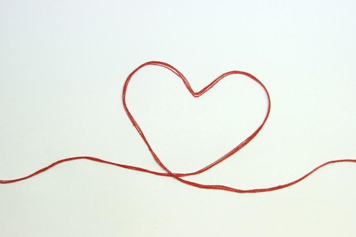 der rote faden foto bild gratulation und feiertage happy valentine spezial bilder auf. Black Bedroom Furniture Sets. Home Design Ideas