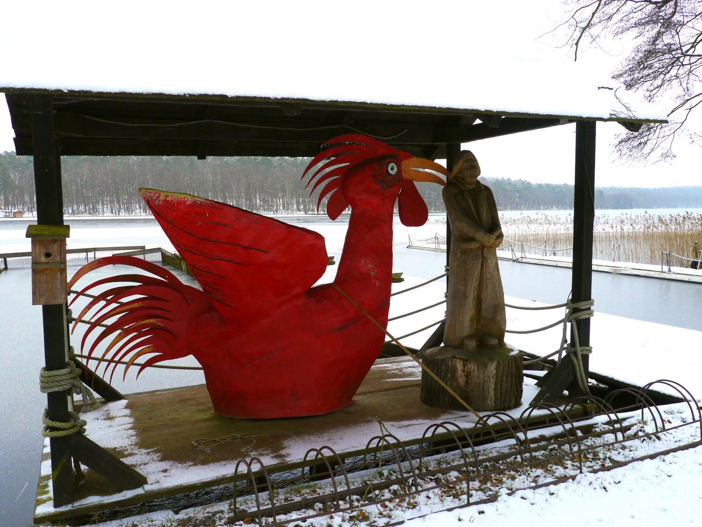 Der rote Hahn vom Stechlin