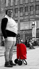 Der rote Koffer