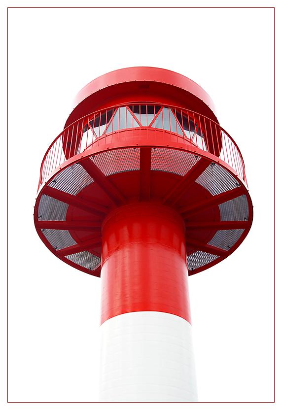 der rote Leuchturm