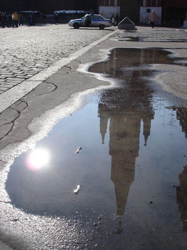 Der rote Platz/Moskau
