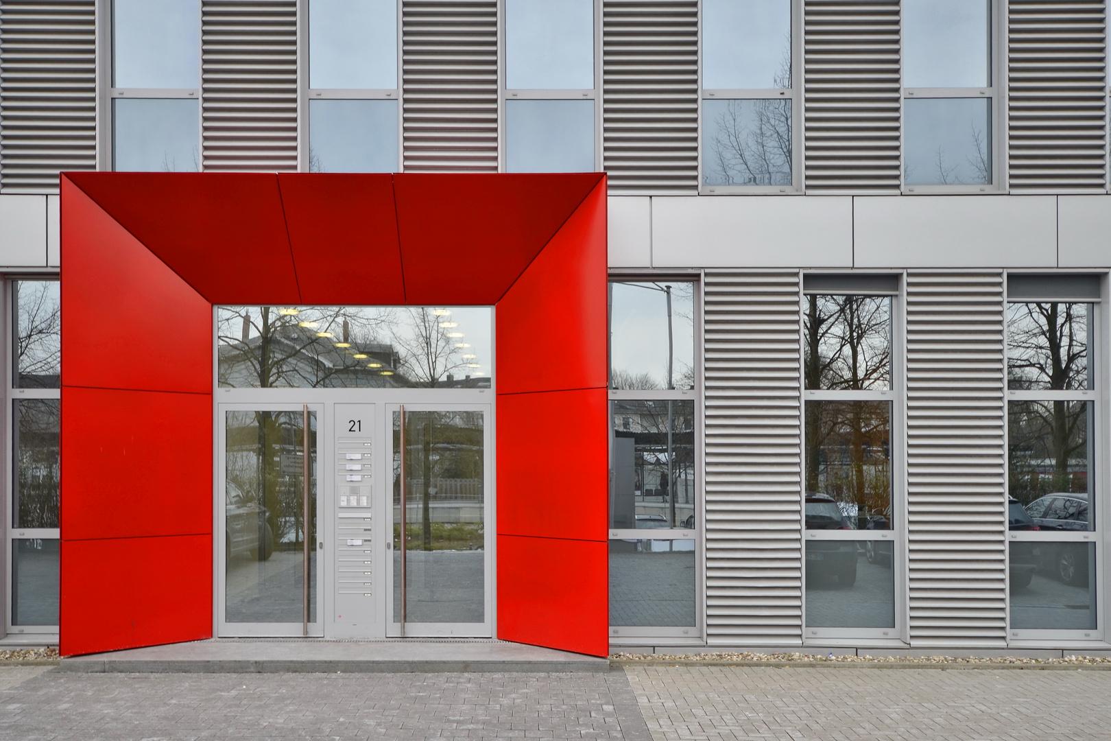 Der rote Rahmen