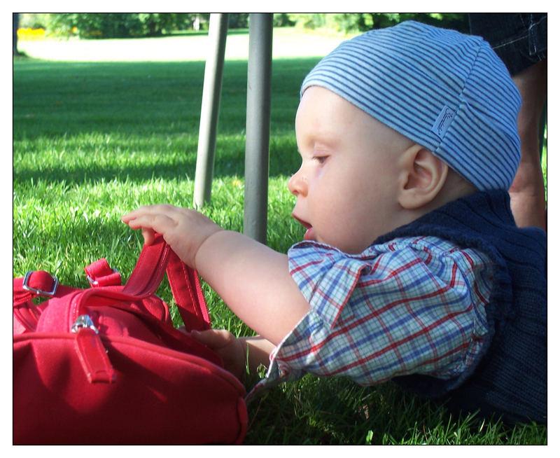Der rote Rucksack