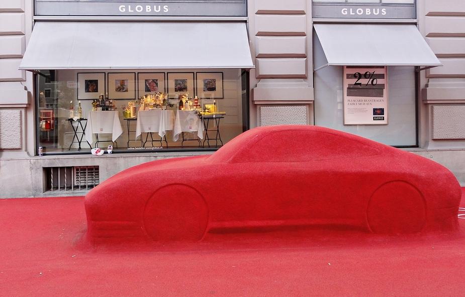 Der rote Teppich . . .