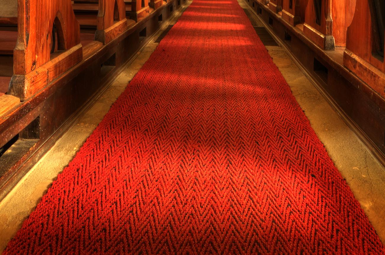 *** Der rote Teppich wurde ...... ***