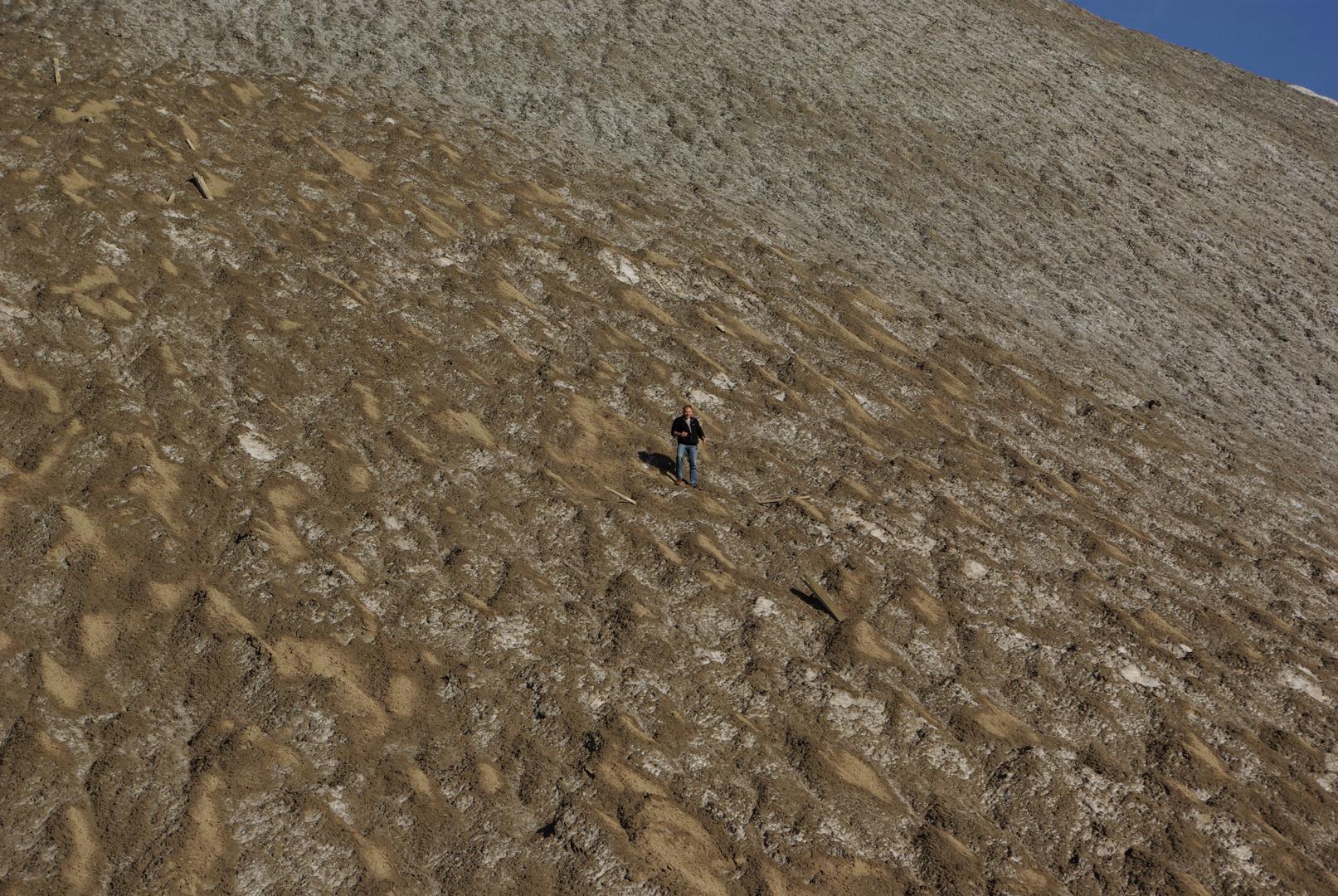 Der Salz-Berg ruhft