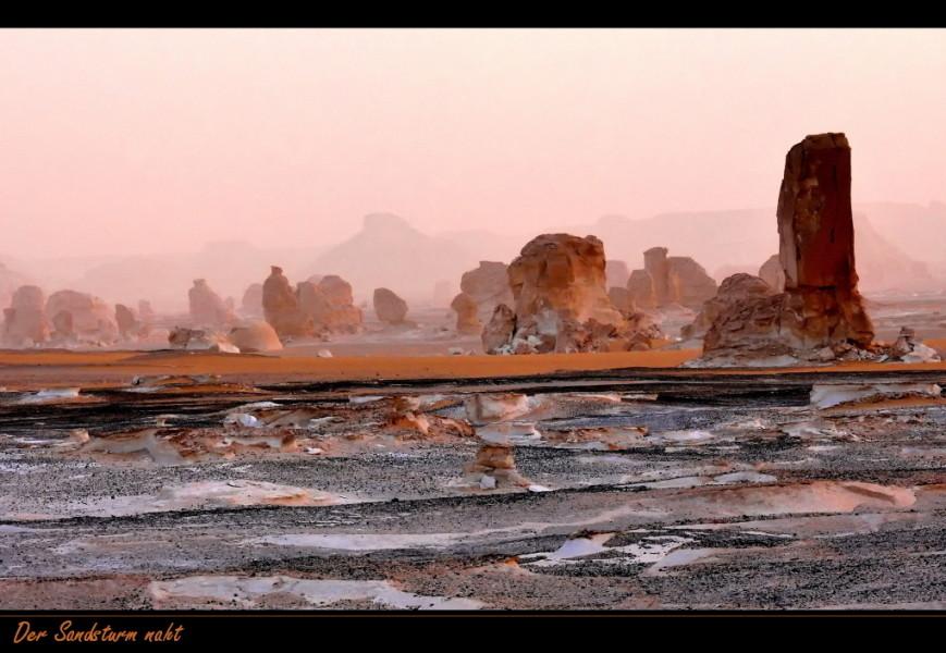Der Sandsturm naht