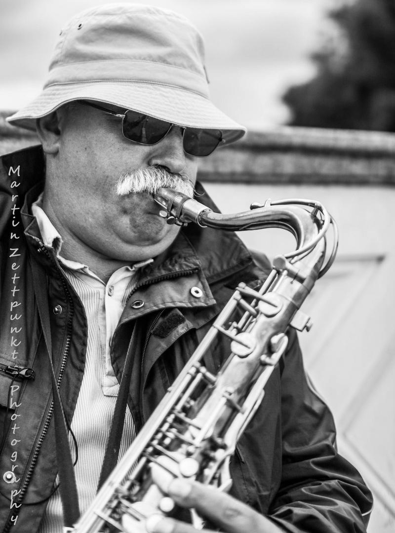 Der Saxophonmann