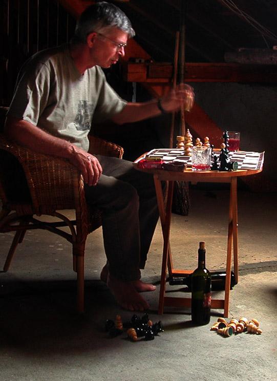 Der Schachspieler.(für Patrik)