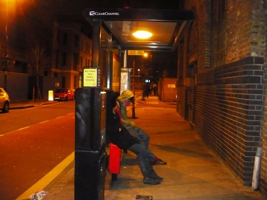 Der scheiß Bus kommt nicht...5am