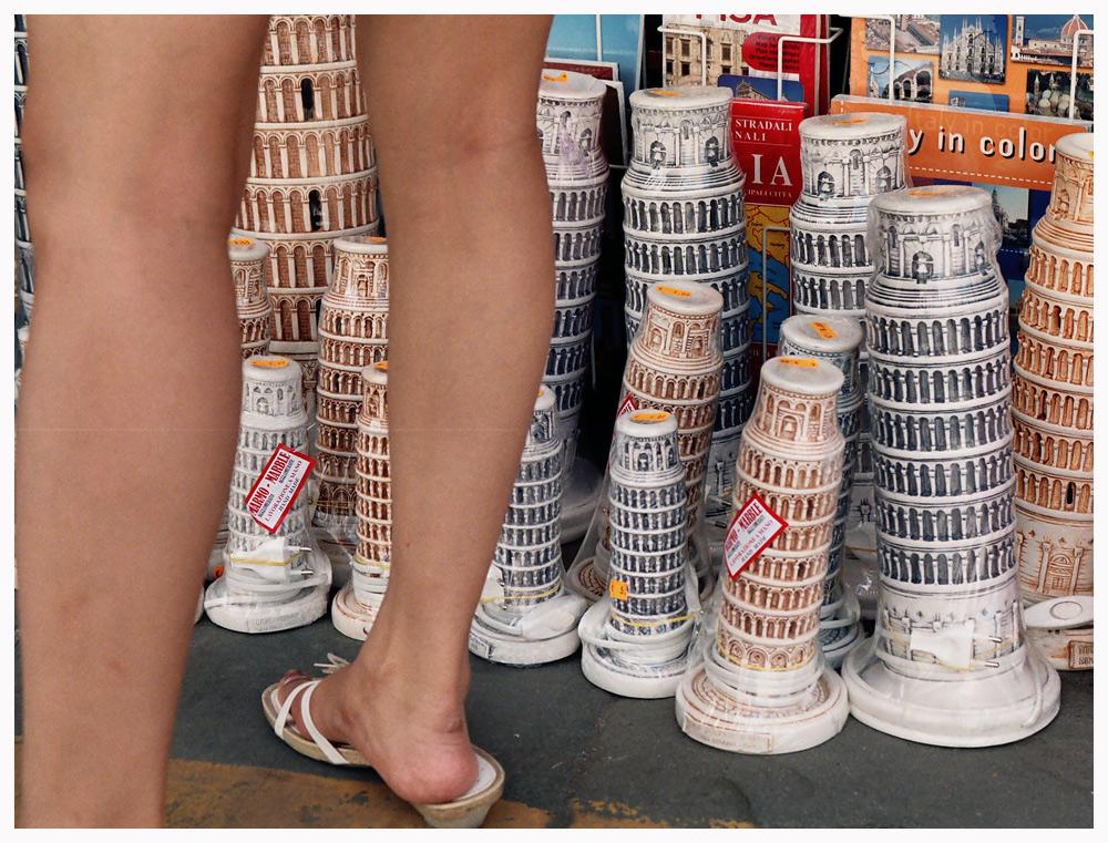 Der Schiefe Fuß von Pisa