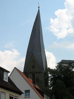 der schiefe Turm in Soest