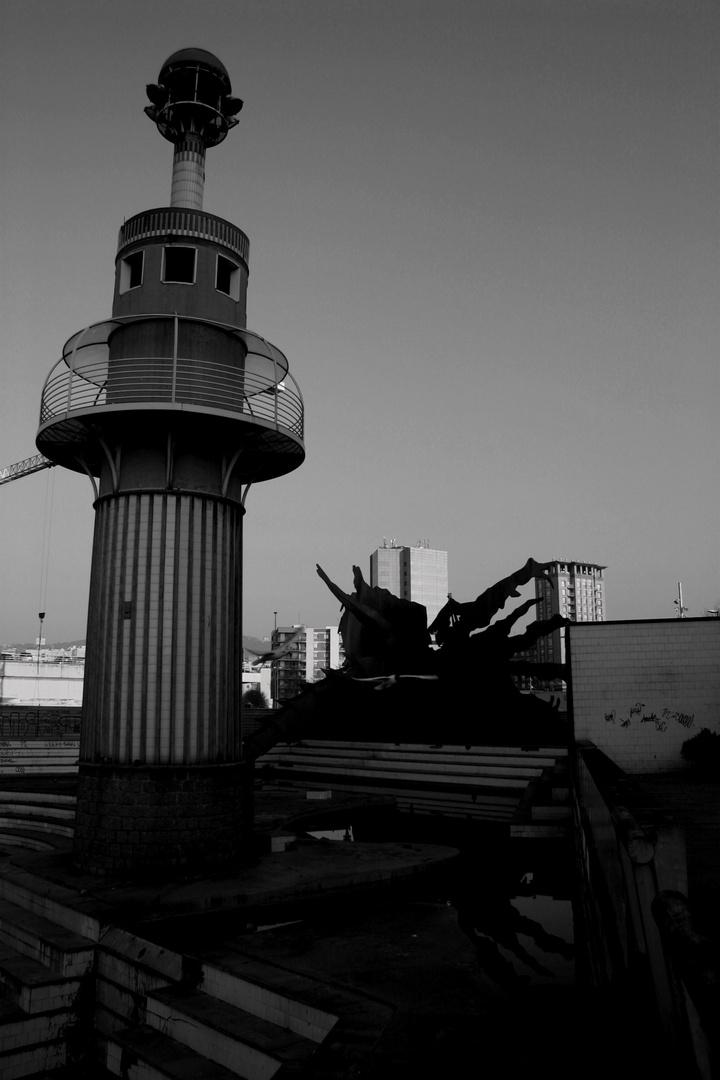 Der schiefe Turm von Barca