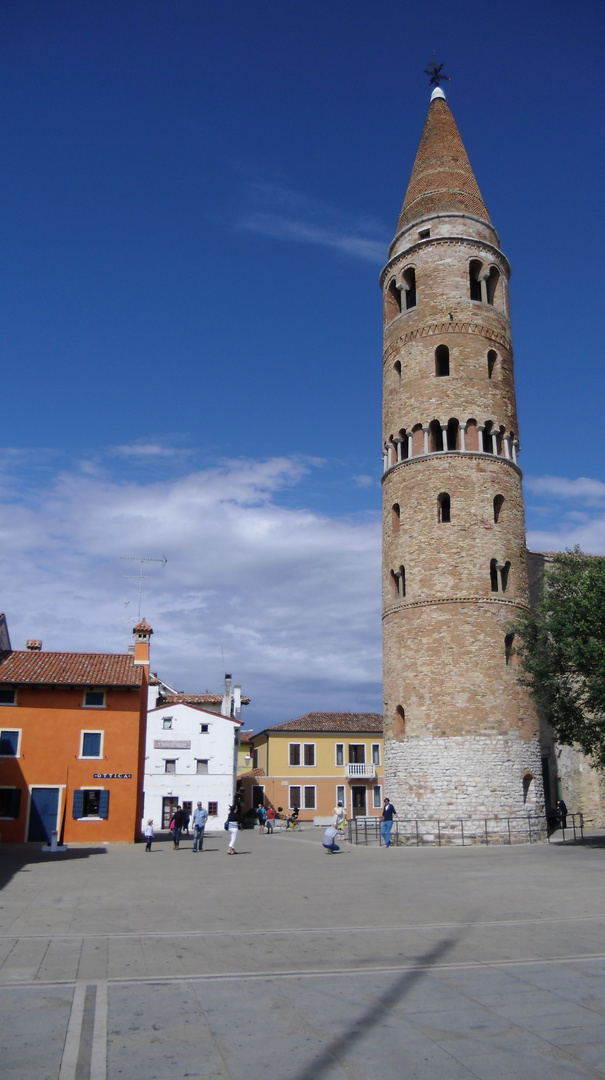Der schiefe Turm von Caorle