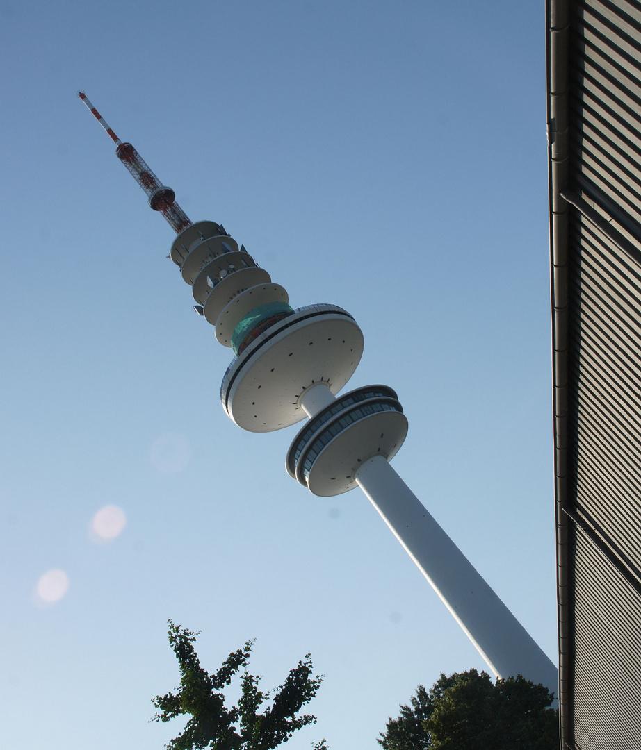 Der schiefe Turm von Hamburg