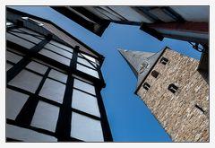 der schiefe Turm von Hattingen