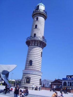Der schiefe Turm von Warnemünde:-)