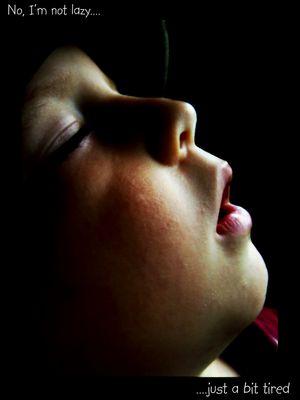 Der Schlaf des Erschöpften