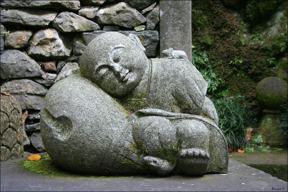 Der schlafende Buddha und die Maus