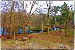 Der Schlangensee, vom, Herrmannsberg gesehen