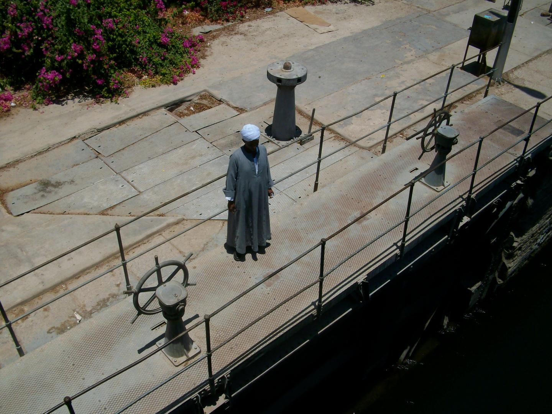 Der Schleusenwärter von Esna