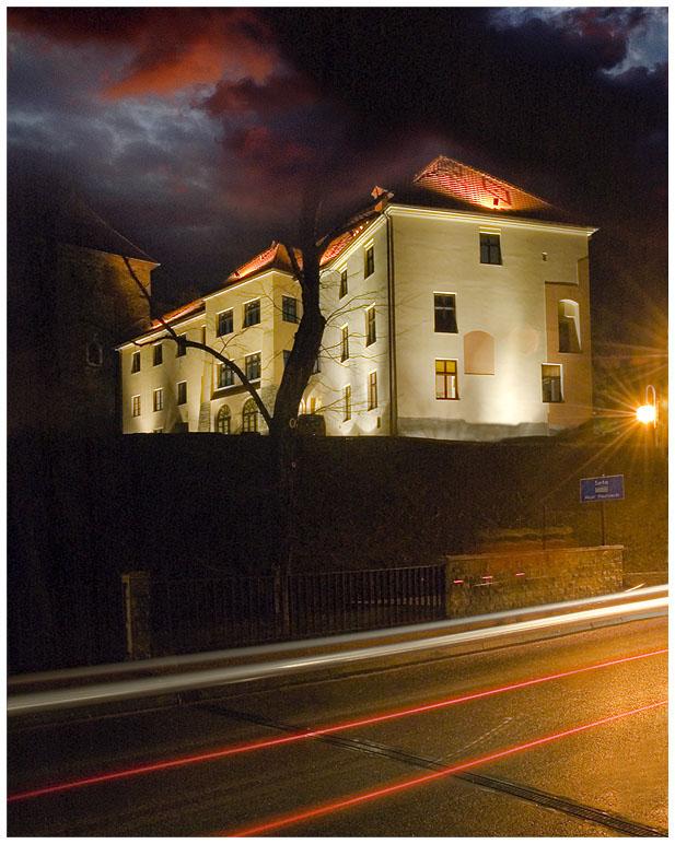 der Schloß in Oswiecim