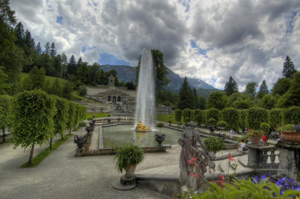 ... der Schlosspark ...