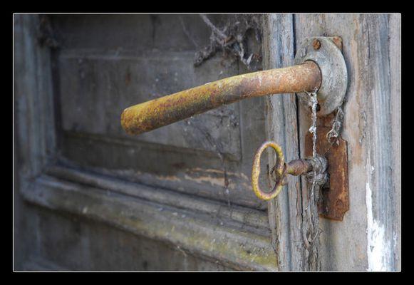 Der Schlüssel blieb stecken...