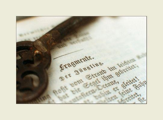 Der Schlüssel der Fragmente