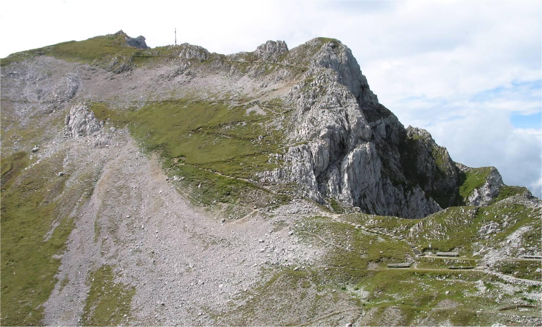 Der schmale Weg zum Gipfel