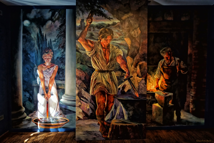 Der Schmied, in Märchen und Sagen