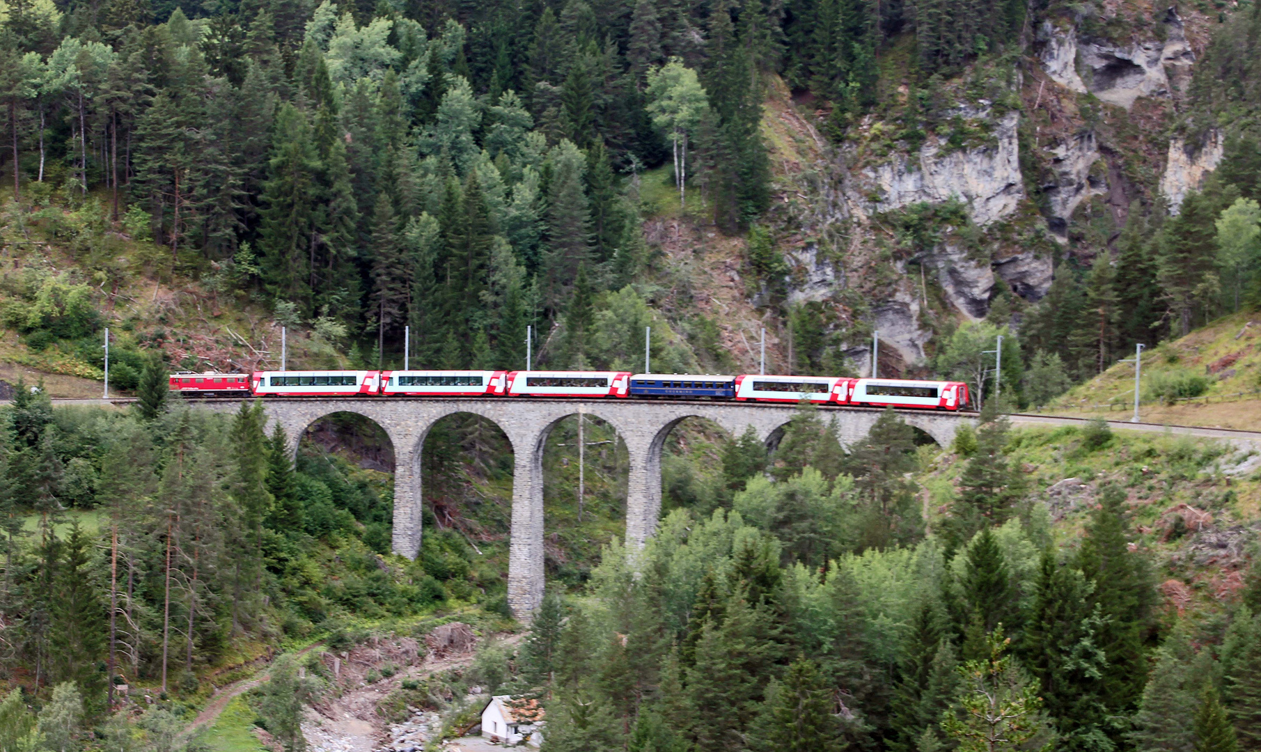 der Schmittentobel Viadukt