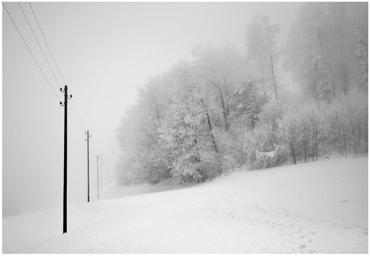 Der Schnee ...