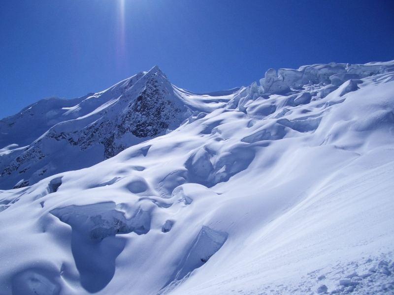 Der Schnee ist da in ...
