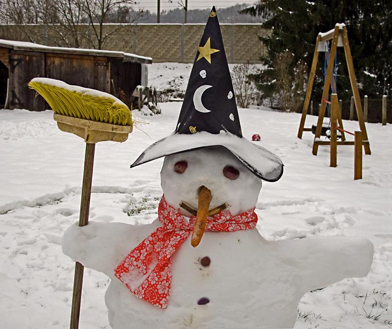 Der Schneemann!