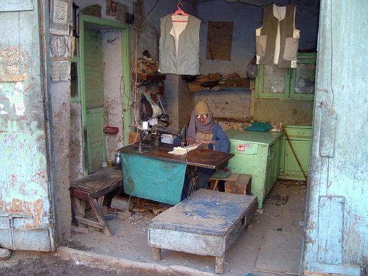 Der Schneidermeister von Esna (Ägypten)