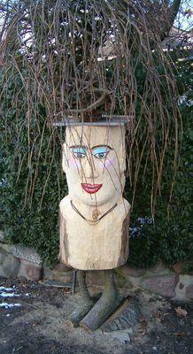 Der schöne Holzkopf