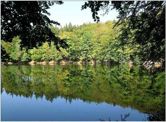 Der Schönsee ...wie der Name schon sagt !