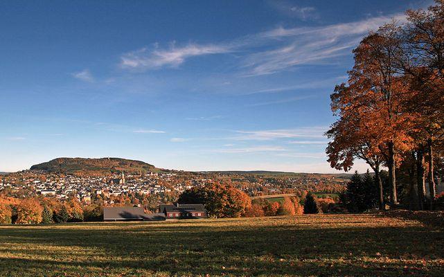 Der schönste Blick auf Annaberg