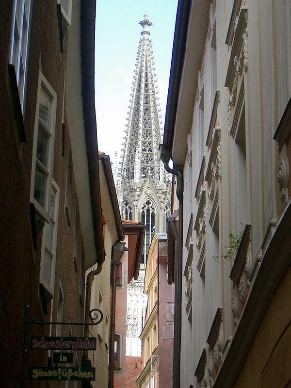 der schönste Blick auf den Regensburger Dom, nicht? :)