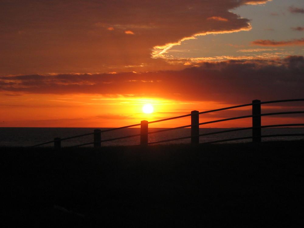 Der schönste Sonnenuntergang