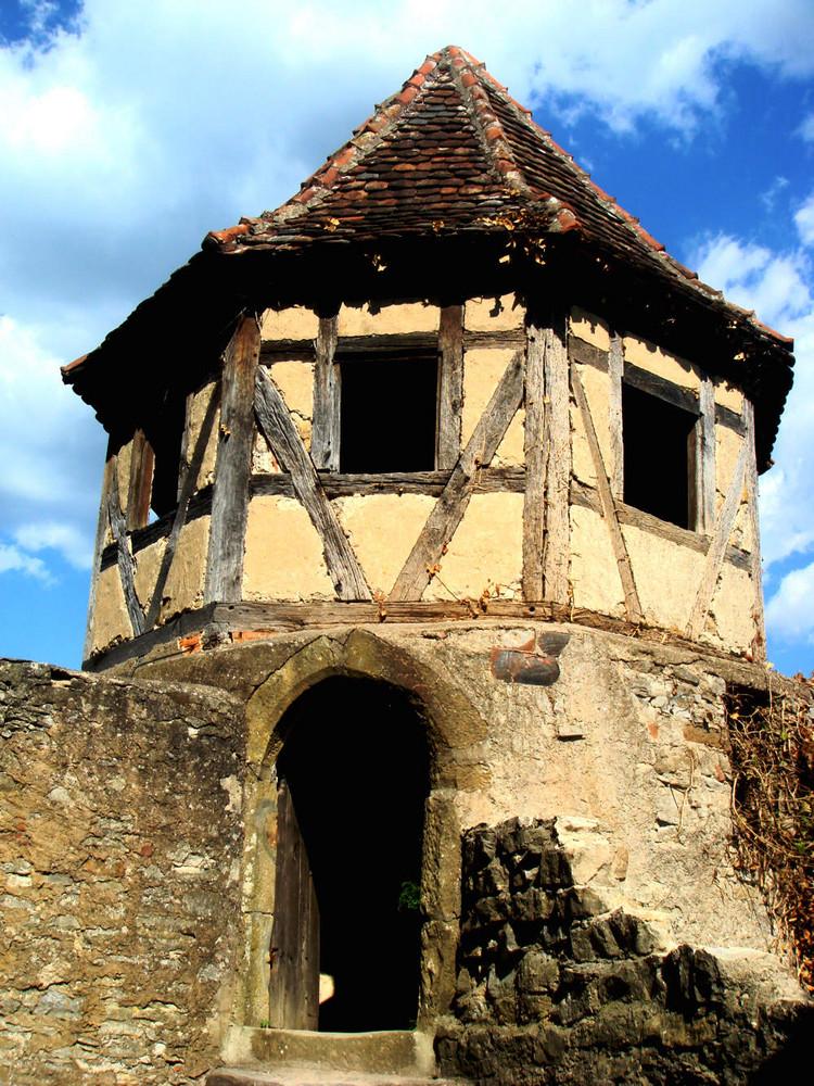 der schönste Turm auf der Burg Hornberg