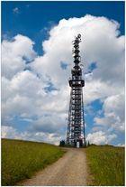 Der Schomberg-Turm ...