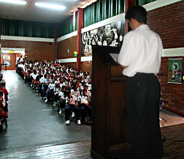 Der Schülersprecher